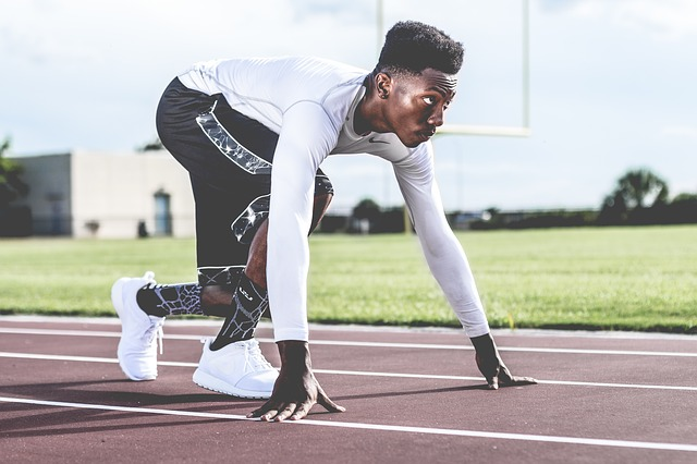 odzież kompresyjna u sportowca